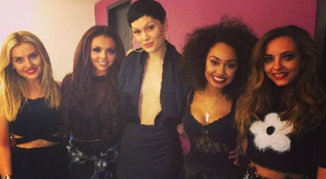 Jessie J Little Mix Brasil 2015