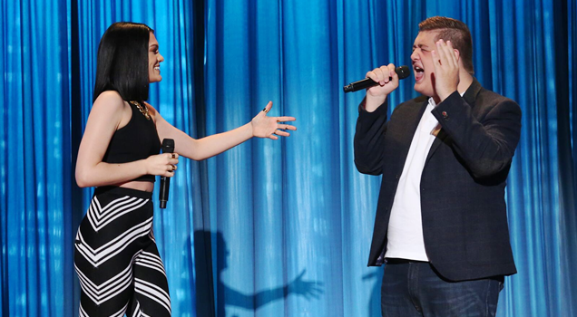 Jessie J Tom Bleasby The Ellen Degeneres Show Flashlight Duet Smule