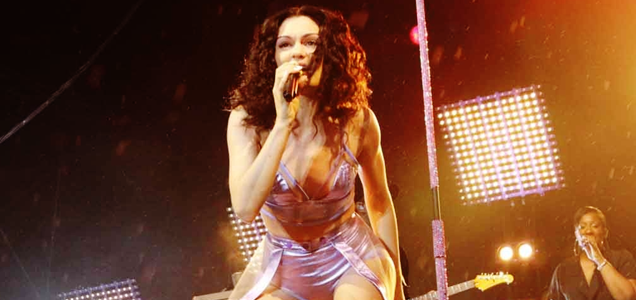 Jessie J Access All Eirias Colwyn Bay Wales 2014