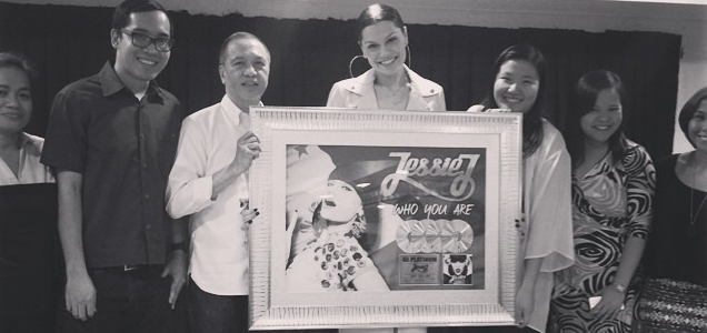 Jessie J Who You Are Platina Filipinas Ásia