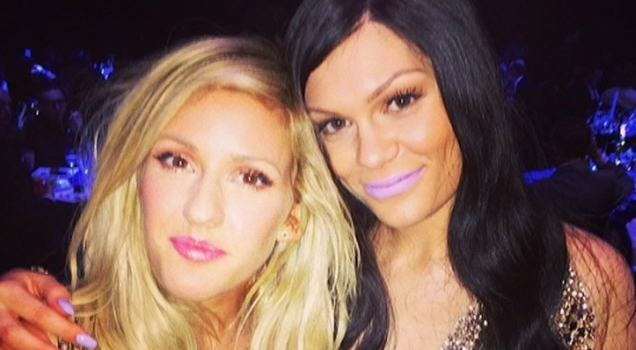 Ellie Goulding Jessie J BRIT Awards 2015
