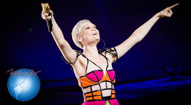 Jessie J Rock in Rio Brasil 2015