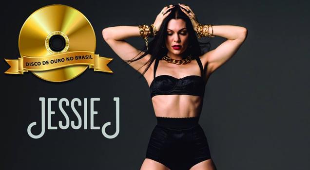 Jessie J Sweet Talker Disco de Ouro Brasil