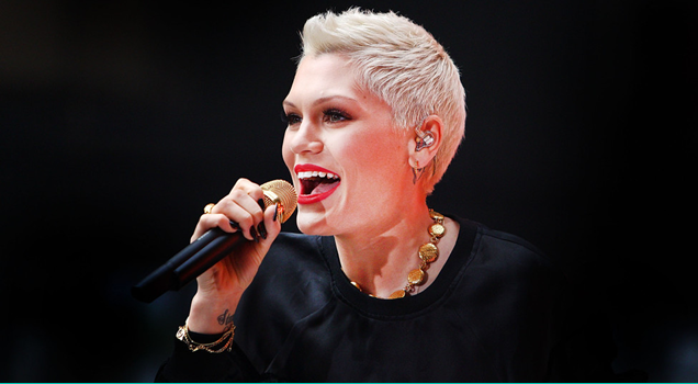 Jessie J performs Times Square New Year Eve Ball Drop 2015 2016 New York