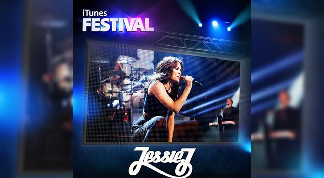 Jessie J live at itunes 2012